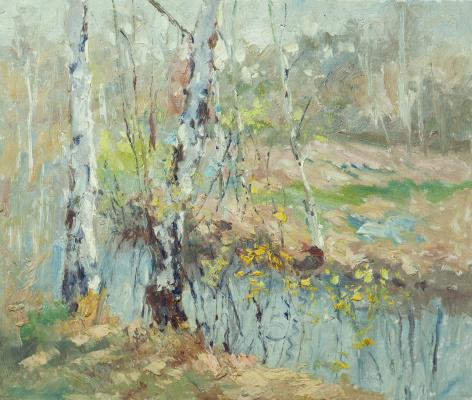 Andrey Sharabarin. Autumn Birch N2