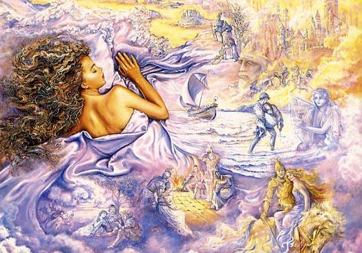 Josephine Wall. Dreams