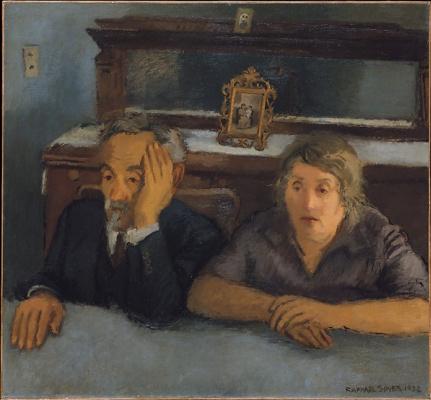 Рафаэль Сойер. Родители