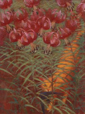 Андрей Владимирович Ремнев. Тигровые лилии. 2004