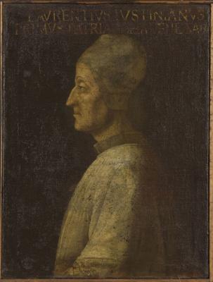 Джентиле Беллини. Портрет Лоренцо Джустиниани