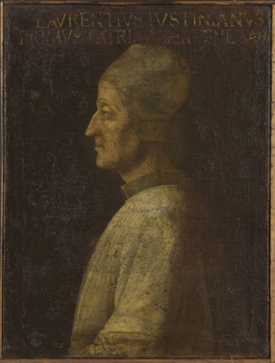 Gentile Bellini. Portrait of Lorenzo Giustiniani