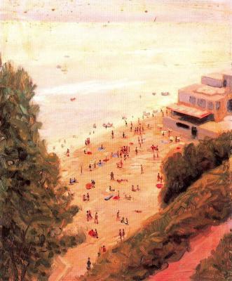 Антонио Бискуерт. Пляж