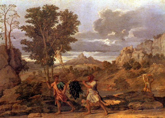 Nicola Poussin. The gifts of the promised land
