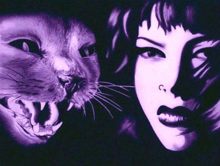 Мэттью Гудселл. Женщина и кошка