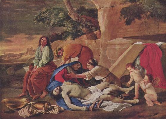 Nicola Poussin. Lamentation Of Christ