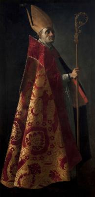 Francisco de Zurbaran. St. Ambrose