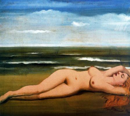 Paul Delvo. Nude