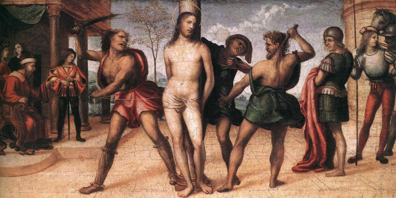 Giovanni Antonio Bazzi (Sodom). Flagellation Of Christ