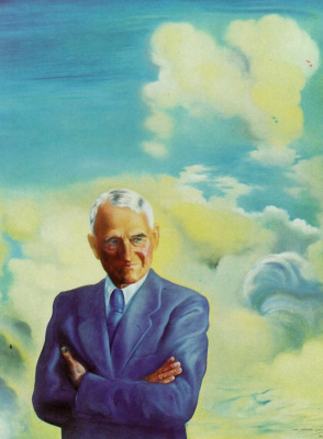 Salvador Dali. Portrait of sir James Dunn