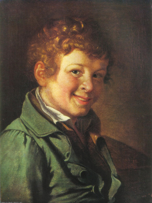 Orest Adamovich Kiprensky. Portrait of a boy