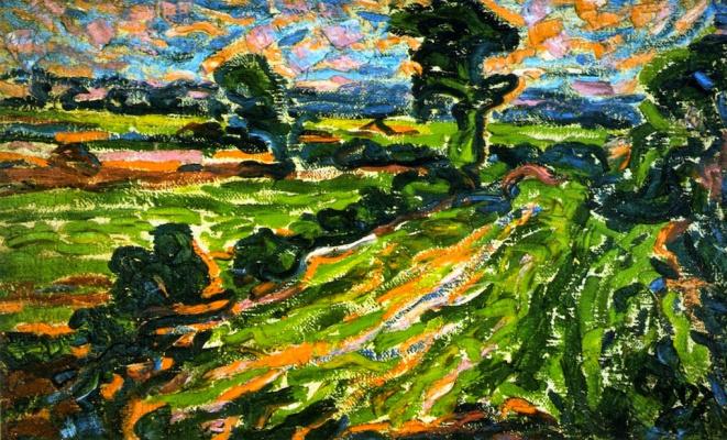 Erich Heckel. Landscape