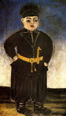 Niko Pirosmani (Pirosmanashvili). The son of a rich KINTO