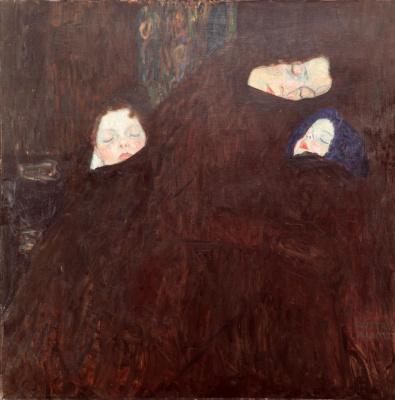 Густав Климт. Семья (Мать с двумя детьми)
