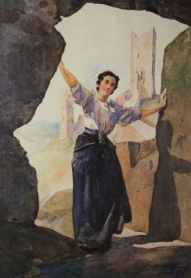 Николай Иванович Шестопалов. Судак. 1915