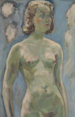 Kees Van Dongen. Bust naked.