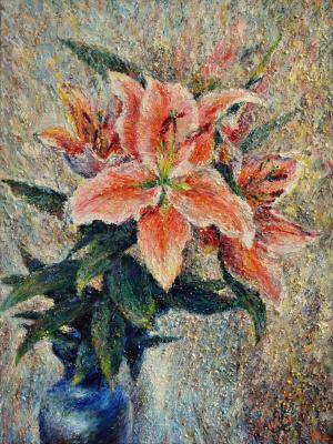Alexey Leonidovich Yakimov. Lilies