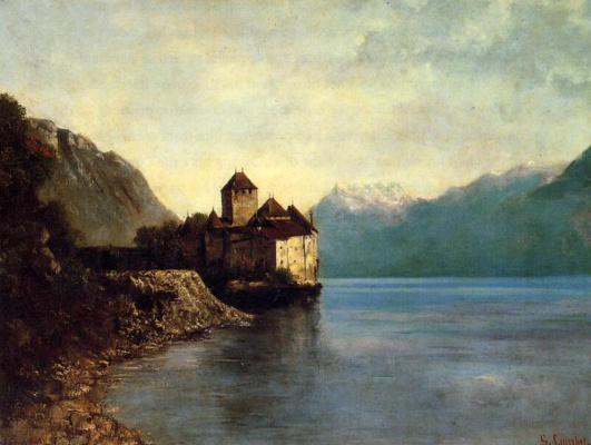 Gustave Courbet. Chateau Chillon