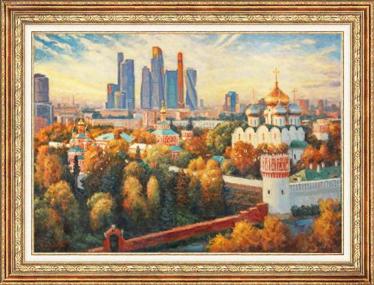 "Igor Razzhivin. ""A tapestry of autumn foliage draws"""