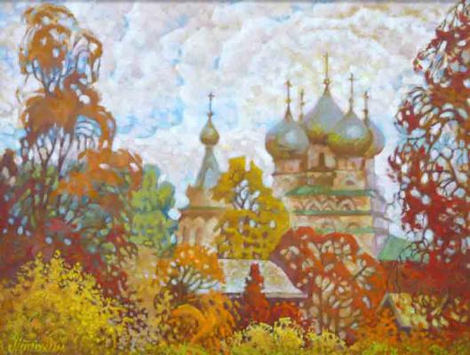Vasily Ivanovich Ptyukhin. Tsarekonstantinovskaya Church