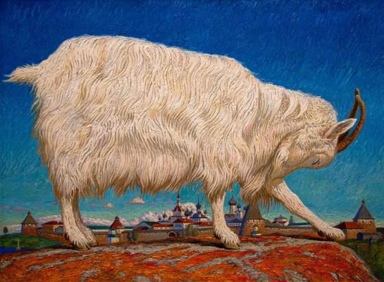 Evgeny Kovalchuk. Goat Solovetskaya.