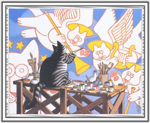 Бернард Клибан. Сны кошек 61