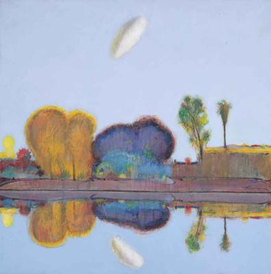 Wayne Thibaut. The reflected landscape