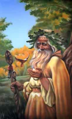 Sergey Nikolayevich Girevoi. Elder with ptah.