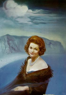 Сальвадор Дали. Портрет госпожи Рут Дапонт