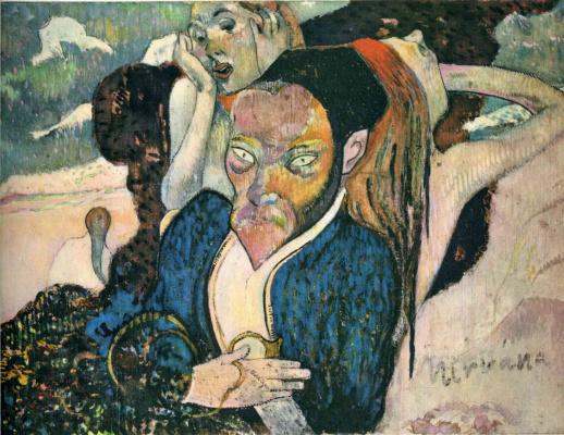 Paul Gauguin. Nirvana, Portrait of Jacob Meyer de Haan