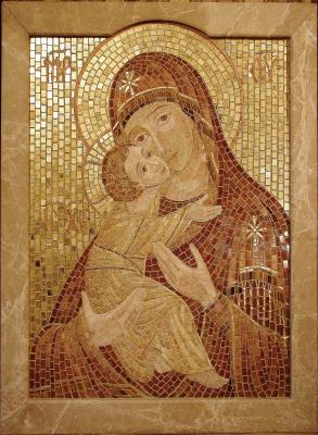 "Aleksey Zagorsky. ""Our Lady Of Vladimir"""