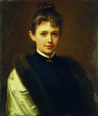 Женский портрет (Портрет неизвестной)
