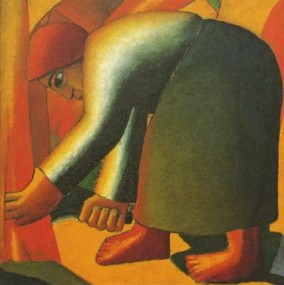 Kazimir Malevich. Reaper