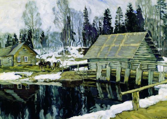 Stanislav Yulianovich Zhukovsky. Dam