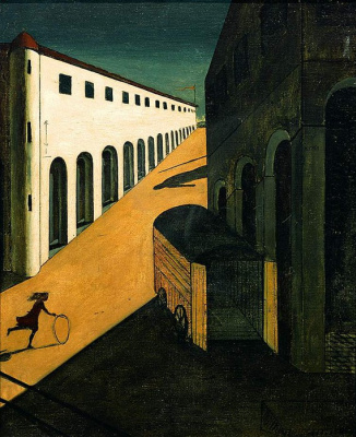 Giorgio de Chirico. Melancholy and the mystery of the street