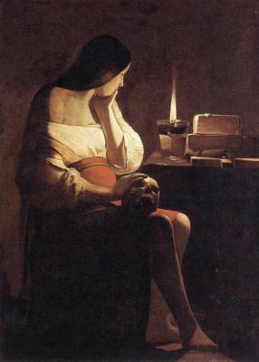 Georges de La Tour. Magdalene