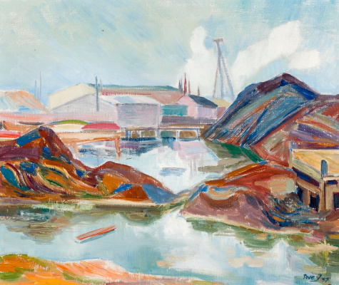 Tove Jansson. Secluded settlement. Edisviken