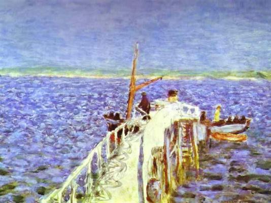 Pierre Bonnard. Sea