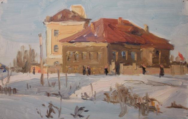 Nina Vasilievna Sedova. Winter sun