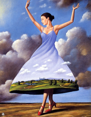 Rafal Olbinski. March
