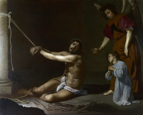 Diego Velazquez. Christ and the Christian soul