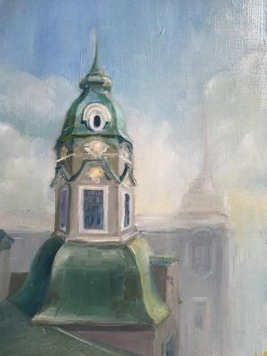 Анна Пономарева. Крыши Австрийской площади