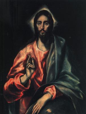Domenico Theotokopoulos (El Greco). El Savior