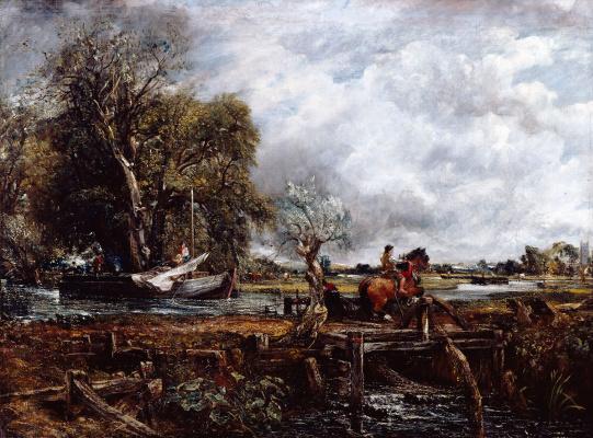 John Constable. Galloping horse