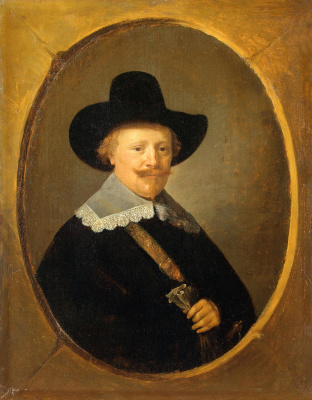 Gerrit (Gerard) Dow. Portrait of a man