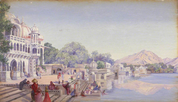 Marianna North. Pushkar, India