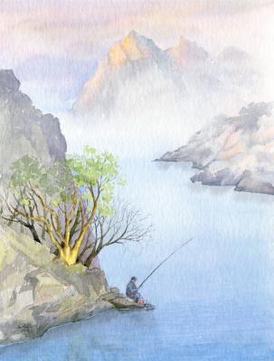 Smbat Arayevich Bagdasaryan. Fisherman