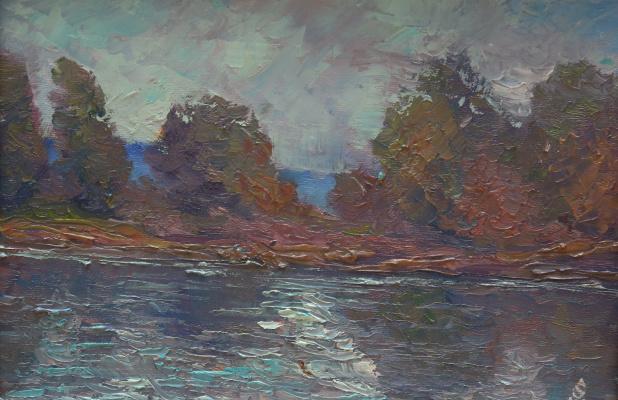 Michael Sakharov. Remote lake