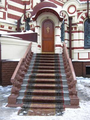 "Alexey Grishankov (Alegri). ""Temple doors"""
