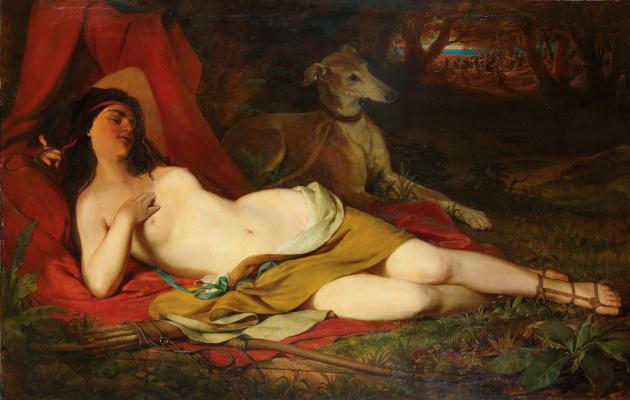 Фридрих фон Амерлинг. Диана на отдыхе.